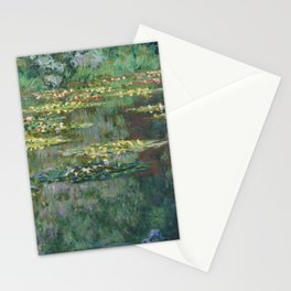 Water Lilies 1904 by Claude Monet Stationery Cards