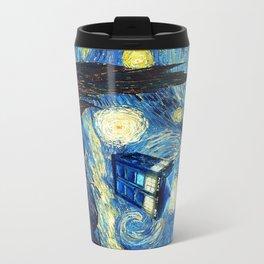 Soaring Tardis doctor who starry night iPhone 4 4s 5 5c 6, pillow case, mugs and tshirt Travel Mug