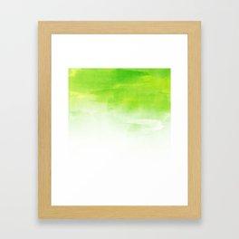 Green mix Framed Art Print