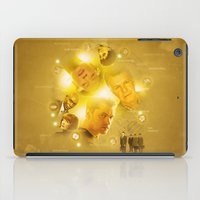fringe iPad Cases featuring FRINGE - Science by Laura Racero