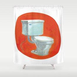 Toilet Shower Curtain