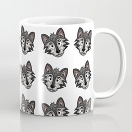 Howl You Doin'? - Cute Wolf - Puppy - 57 Montgomery Ave Coffee Mug