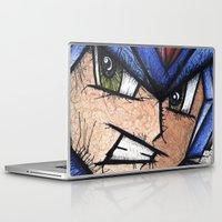 mega man Laptop & iPad Skins featuring Mega Man X by chris panila