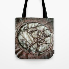 Woven Threads . Dream Catcher Tote Bag