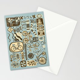 Here to There, Near or Far, This Way or That Stationery Cards