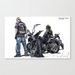 Jax N Bobby Canvas Print