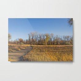 Downstream Campground, North Dakota 22 Metal Print