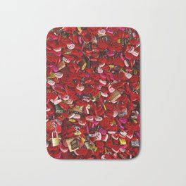 Padlocks of Love Bath Mat