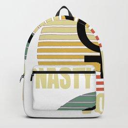 Retro Nasty women Vote Backpack