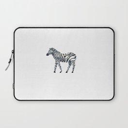 zebra draw abstract Laptop Sleeve