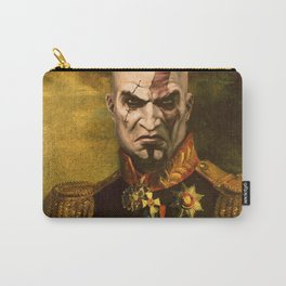 Kratos General Portrait Painting | god of war Fan Art Carry-All Pouch