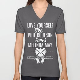Love Yourself Like - Phil Coulson & Melinda May - Agents Of SHIELD Unisex V-Neck