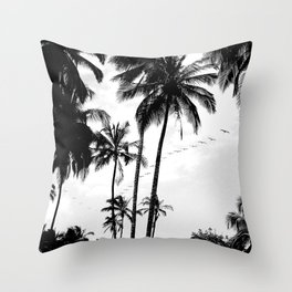 Pelican Paradise Throw Pillow