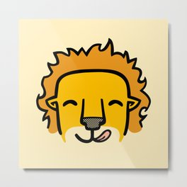 Hungry Leo Metal Print