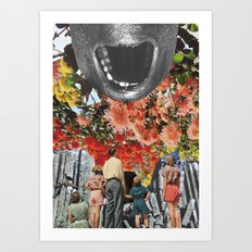The Scream by Zabu Stewart Art Print