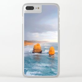 Rock Stacks Clear iPhone Case