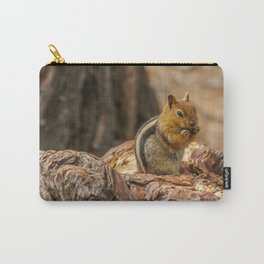 The Squirrel and the Redwood Carry-All Pouch