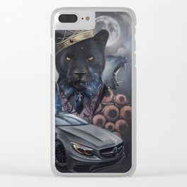 night beast, who rules in the dark. Clear iPhone Case