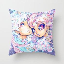little dream Throw Pillow