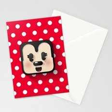 minnie mouse cutie Stationery Cards