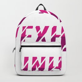 Inhale Good Shit Pothead or Hippie Gift Backpack