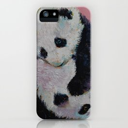 Baby Panda Rumble iPhone Case