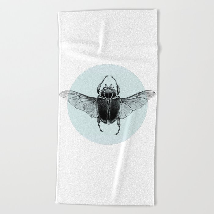 Beetle Beach Towel
