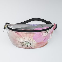 The fairy will come out soon 3 #flower #combination Fanny Pack
