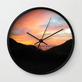 Sunset Soul Wall Clock