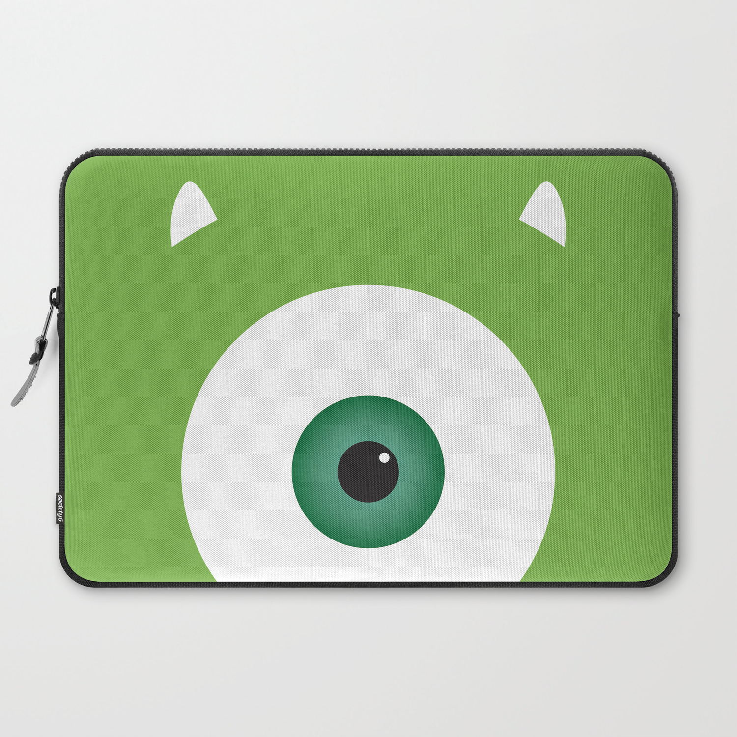 Pixar Character Poster Mike Wazowski 2 Monsters Inc Laptop Sleeve