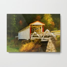 Jackson's Mill Bridge Metal Print