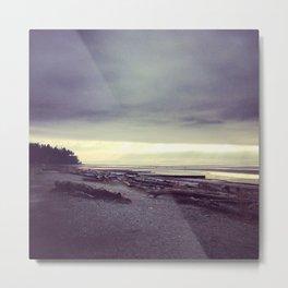 The Beach, Vancouver Metal Print
