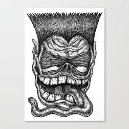 Bobby Slobber Canvas Print