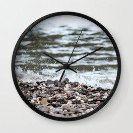 Beach Pebbles Wall Clock