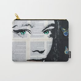 Yekaterina with butterflies Carry-All Pouch