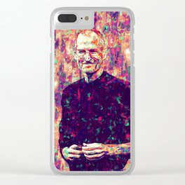 Jobs Clear iPhone Case