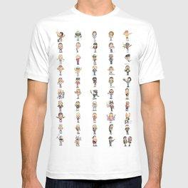 Old School Wrestling T-shirt