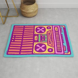 Equalizer Boombox Rug