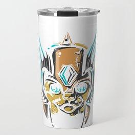 Valkyrie Cat Travel Mug