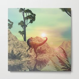 Dilophosaurus  Metal Print