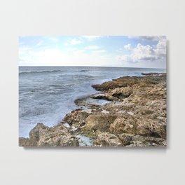 Ocean At Rest Metal Print