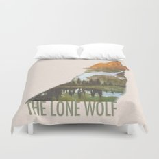 The Lone Wolf Duvet Cover