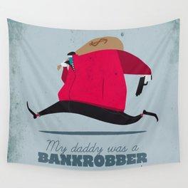 Bankrobber Wall Tapestry