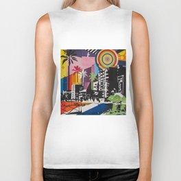 the city 6 Biker Tank