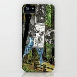 Pardon My Intrusion iPhone Case
