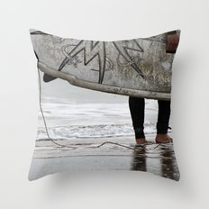 Surfboard 2 Throw Pillow