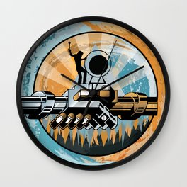 Set the Controls for the Heart of the Moon Wall Clock