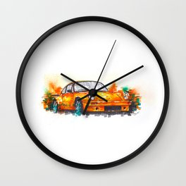 Porsche 911 RS Wall Clock