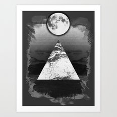 Upper Mind Art Print