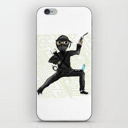 Cyber Ninja iPhone Skin